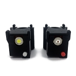 FAA Compliant Strobe Light Set With Mounting Brackets (2 Lights)