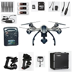Yuneec Typhoon Q500 4K Quadcopter Bundle with <strong>3 Batteries</strong> <font color=#0000ff><strong>(4K Video/12MP Stills)</strong></font>