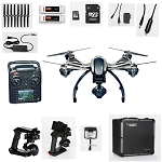 Yuneec Typhoon Q500 4K Quadcopter Bundle With 2 Batteries and Aluminum Case With Trolley <font color=#0000ff><strong>(4K Video/12MP Still)</strong></font>