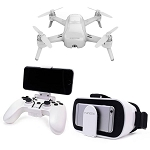 Yuneec Beeze 4K Quadcopter with 4K Video and 13MP Still Photos With Controller and FPV Head Gear