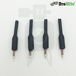 4pcs of 35mm DroMite 5.8G FPV Brass Antenna with Omnidirectional Weld Connector