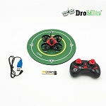 DroMite Red and Black RTF  Micro FPV Drone with Controller