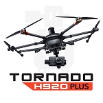 Yuneec Tornado H920 Plus RTF Hexa-Copter with Aluminum Case,  ST16 Transmitter, 3 Batteries, CGO4 Camera and ProAction  Handle