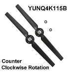 Yuneec Typhoon Propeller Set B for Q500 Typhoon and Typhoon G (CCW, 2-Pack)