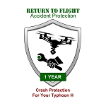RTF Accident Protection For Your Typhoon H, 1 Year Plan, Air Coverage, Guaranteed 7 Day Turn-Around On All Repairs