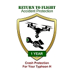 RTF Accident Protection For Your Typhoon H, 1 Year Plan, Full Coverage, Guaranteed 7 Day Turn-Around On All Repairs
