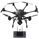 YUNEEC TYHPOON H PRO RTF MULTICOPTER WITH ST16+ GROUND STATION, CGO3+ CAMERA, 1 BATTERY