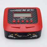 Hitec X2 AC Plus Dual AC/DC High Output Charger