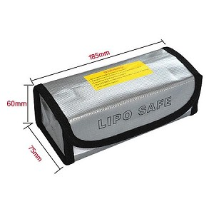 LIPO Safe Battery Charging Box