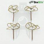 4pcs of 1in DroMite Circular Polarized Clover Antennas