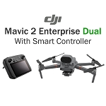 DJI Mavic 2 Enterprise Dual Smart Controller Bundle With Shield Basic Protection Plan