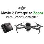 DJI Mavic 2 Enterprise Zoom Smart Controller Bundle With Shield Basic Protection Plan