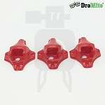 Set of 3 Red DroMite Camera Mount Canopies