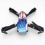 DJI Mavic Pro American Flag Design Sticker