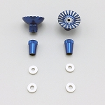 Blue Controller Thumb Rockers for DJI, Yuneec, and Autel