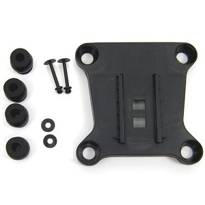 Yuneec CGO3+ Camera Mount Top Plate With Rubber Dampers And Anti-Drop Pins